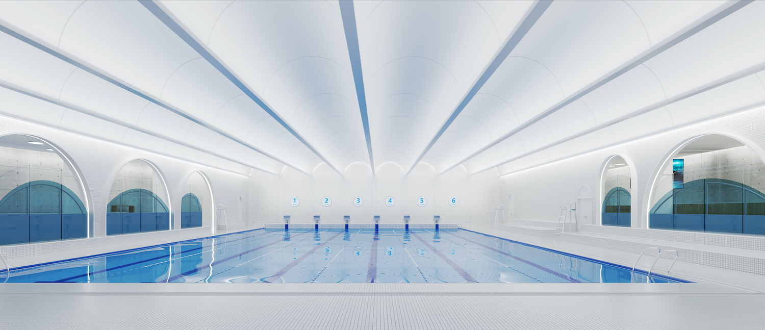 DU studio and ProSwim Academy Swimming work together to build the first endless pool in Shanghai